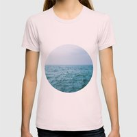 Nautical Porthole Study No.3 Womens Fitted Tee Light Pink SMALL