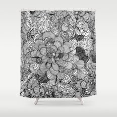 BW Shower Curtain