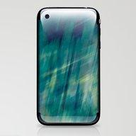 Submerge Aqua iPhone & iPod Skin