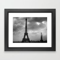 Eiffel Tower 2 Framed Art Print