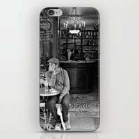 At the Cafe iPhone & iPod Skin