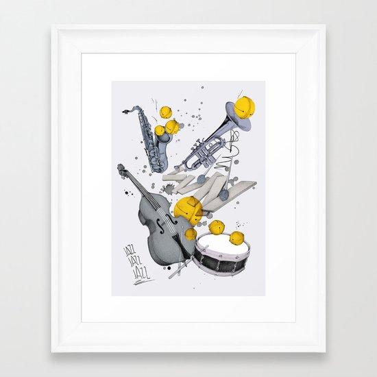 Jazz Jazz Jazz Framed Art Print
