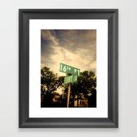 526 Framed Art Print