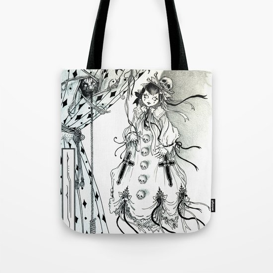 Apparitia Doll Tote Bag