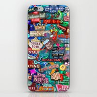 Vintage Neon Signs iPhone & iPod Skin