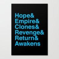 Machete Order Canvas Print