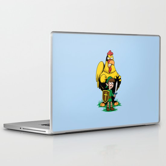 The Legend of Ernie (light background) Laptop & iPad Skin