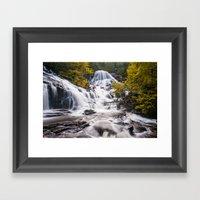 The Magic Waterfalls Framed Art Print