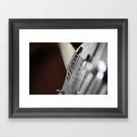 Gretsch Framed Art Print