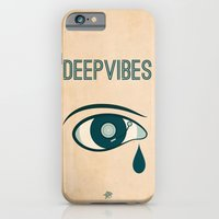 iPhone & iPod Case featuring Deep Vibes by Inksider