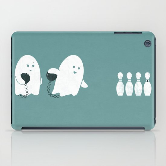 Bowling Ghost iPad Case