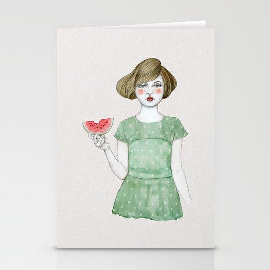 Genevieve Stationery Card