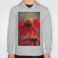 Red Coneflower Hoody