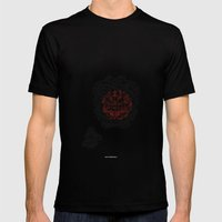 - Cosmos_02 - Mens Fitted Tee Black SMALL