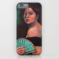 Lady With Fan iPhone 6 Slim Case
