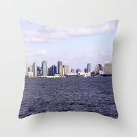 Good Morning San Diego  Throw Pillow