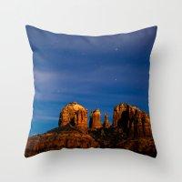 Sedona Past Midnight Throw Pillow