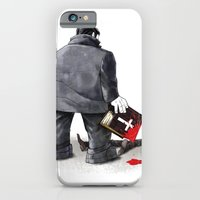 iPhone & iPod Case featuring Sin by Miguel Herranz