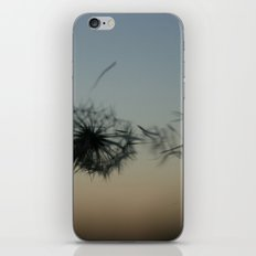 wishes on the wind iPhone & iPod Skin