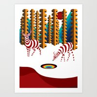 Dreaming of Eternalia Art Print