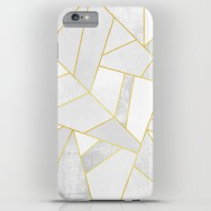 White Stone iPhone 6s Plus Slim Case