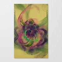 Phantom Heart Nebula Canvas Print