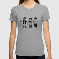 Gangster babies. Womens Fitted Tee Athletic Grey SMALL