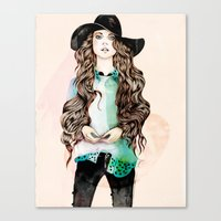 Boho Chic  Canvas Print