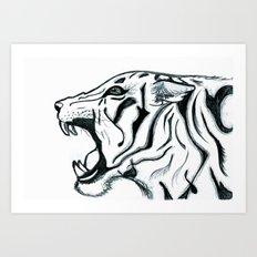 Let Him Roar Art Print
