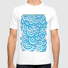 Growth 1 White SMALL Mens Fitted Tee