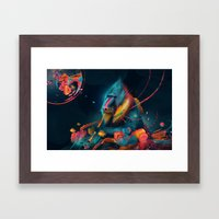 color madril Framed Art Print