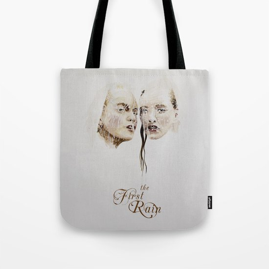 the first rain Tote Bag