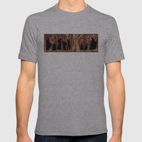 On the way (The Fellowship of the Ring, LOTR) Version 2 Mens Fitted Tee Athletic Grey SMALL