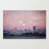 Where We Left Our Hearts Canvas Print