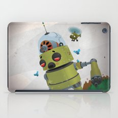 Monster robot toy iPad Case