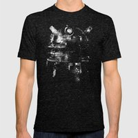 Dalek Mens Fitted Tee Tri-Black SMALL
