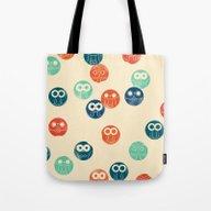Owl Spots Tote Bag