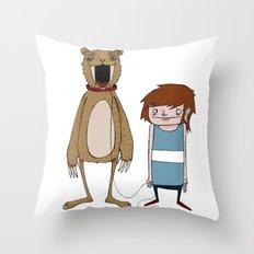 Pet Bear Throw Pillow