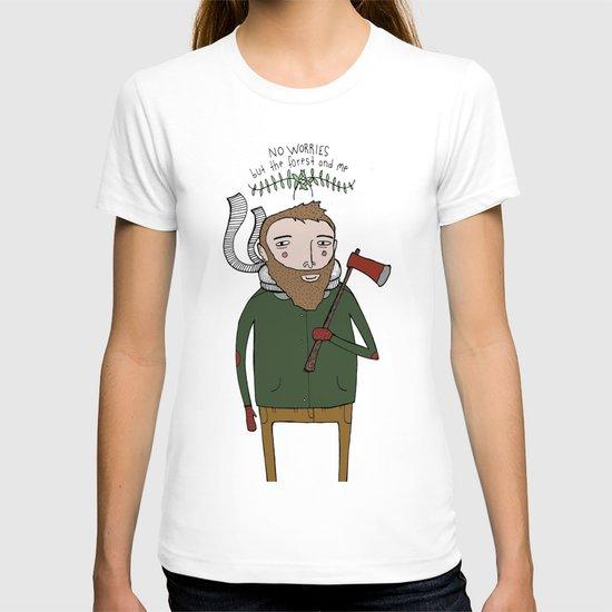 No Worries Woodsman T-shirt