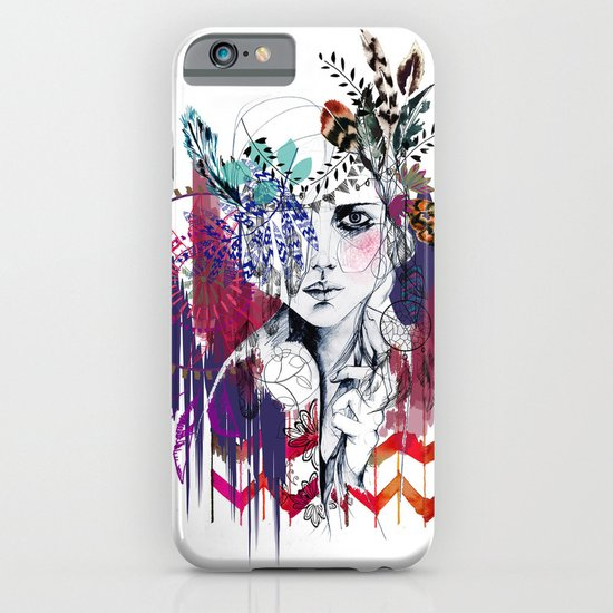Tribal Girl  iPhone & iPod Case
