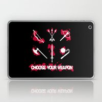 Choose your Weapon Laptop & iPad Skin