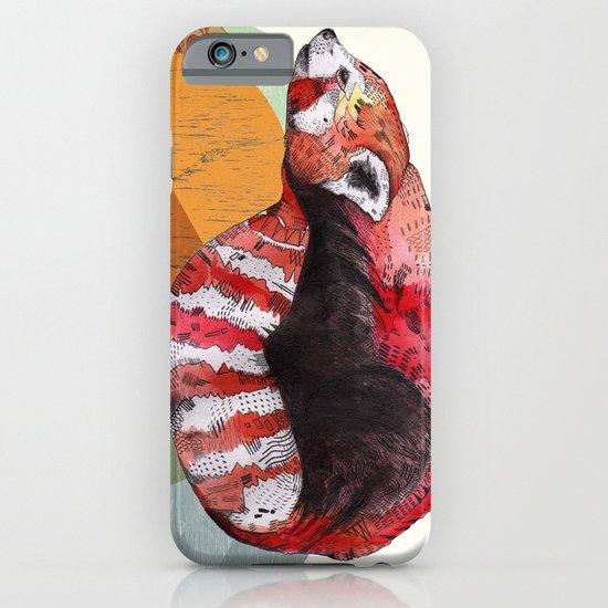 Red Panda iPhone & iPod Case