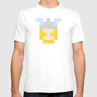 Hero Pixel Flesh Yellow … Mens Fitted Tee White SMALL