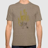 Put a Smile On Mens Fitted Tee Tri-Coffee SMALL