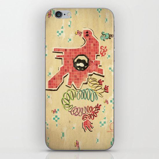 My Childhood Dragon Playground iPhone & iPod Skin