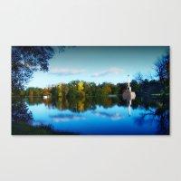 The Golden Pond Canvas Print