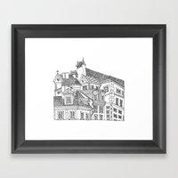 Old Town (Stare Miasto) - Warsaw, Poland Framed Art Print
