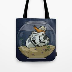 Snail Trooper Tote Bag