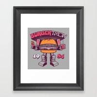 BurgerTRON '84 Framed Art Print