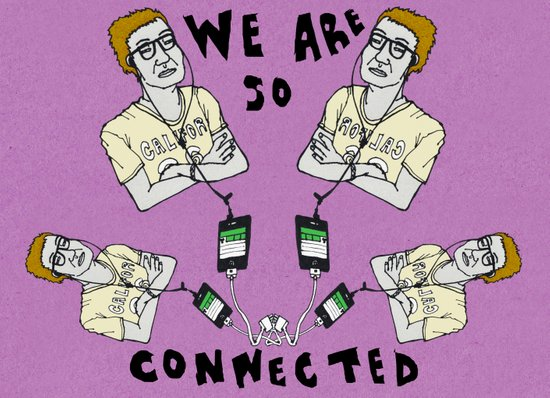 We are so connected Art Print
